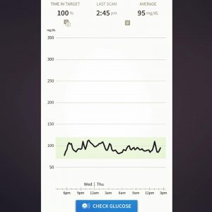 Libreview App Steady Blood Glucose